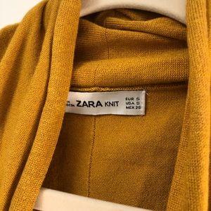 Zara mustard yellow fall perfect sweater 🍂